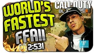 getlinkyoutube.com-World's FASTEST Free For All in Black Ops 3!! ★ (BO3: Best Free For All/FFA Class Setup!)
