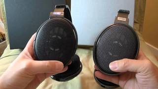 getlinkyoutube.com-Sennheiser HD-600 vs HD-650 headphones overview and impressions