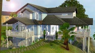 getlinkyoutube.com-The Sims 3 - Speed Build - Tropic Blue