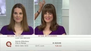 getlinkyoutube.com-Hairdo Effortless Clip-In Bangs with Gabrielle Kerr
