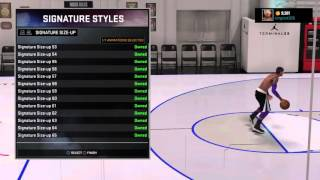 getlinkyoutube.com-NBA 2K16 BEST ANKLE BREAKING SIGNATURE STYLES AFTER PATCH 6
