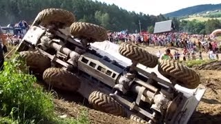 getlinkyoutube.com-HOT crashes! The Best of Truck trial Extreme Mohelnice