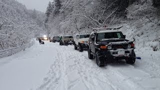 getlinkyoutube.com-snow attack 2014/1/19 FJ Cruiser Off-Road