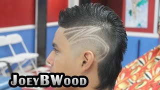 getlinkyoutube.com-Featured Barbers #2 JoeyBWood Pomona Ca, by MarioNevJr; Creative South of France