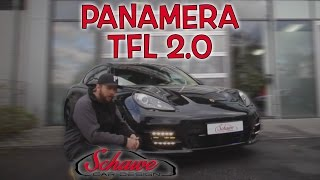 getlinkyoutube.com-Porsche Panamera Tagfahrlicht Umbau Version 2.0 | Schawe Car Design