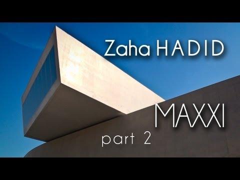 [HD] (2) Zaha HADID - (2009) - MAXXI Museum Art XXI (Roma - Italy) - Part.2