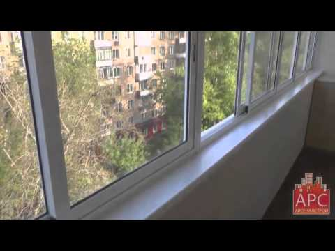 Примеры ремонта и остекления балконов и лоджий, цены от прои.