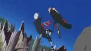 getlinkyoutube.com-kakashi vs Hidan and Kakuzu