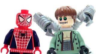getlinkyoutube.com-LEGO 4856 Doc Ock's Hideout LEGO Spider-Man 2 Marvel Super Hero Review
