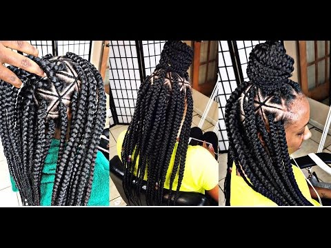 #248.@Braids_by_Twosisters  #Inspired Spider Web Braids