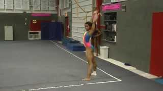 getlinkyoutube.com-Gabby Douglas shows off her new floor routine in this dance through