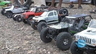 getlinkyoutube.com-3rd RocK Crawlers Adventure - Part 1 - Axial SCX10, Wraith, Tamiya CR-01 Jeep, Twin Hammer