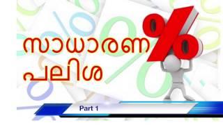 സാധാരണ പലിശ /Simple Interest problems Part 1, PSC/LDC Maths Malayalam, Memory Tricks