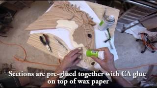 getlinkyoutube.com-Wild Horses, an Intarsia by Kathy Wise