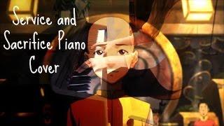 getlinkyoutube.com-The Legend of Korra: Book 3 Soundtrack - Service and Sacrifice (Jinora's Tattoos) Piano Cover