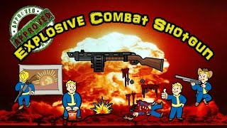getlinkyoutube.com-Explosive Combat Shotgun - Fallout 4 Legendary Weapons