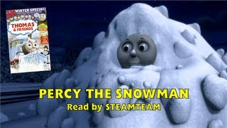getlinkyoutube.com-Percy the Snowman - Thomas & Friends magazine story - Narrated by SteamTeam - HD