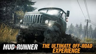 Spintires: MudRunner - Release Date Announcement Trailer