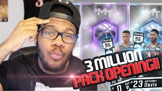 getlinkyoutube.com-NBA 2k17 MyTEAM - 3Million VC Pack Opening! New Diamond Anthony Davis & Westbrook! Was it Worth it?