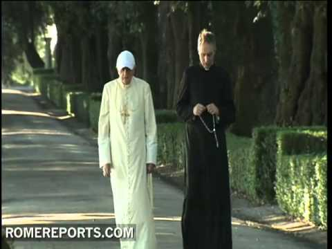 The pope visits Italy�s Abruzzo region
