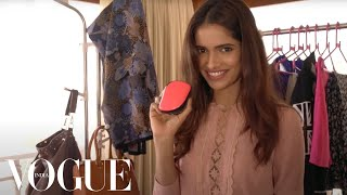 getlinkyoutube.com-In the Travel Bag of ex-Miss India Vartika Singh | Vogue All Access Series | VOGUE India
