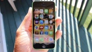iPhone 5C hands on review WALKTHROUGH (GREEN)