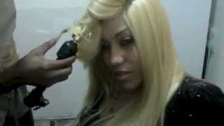 Full Head Weave With Side Invisible Part