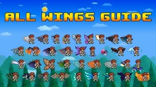 getlinkyoutube.com-All Wings Guide - Terraria 1.3