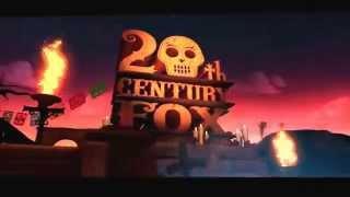 20th Century Fox Halloween logo (first half)