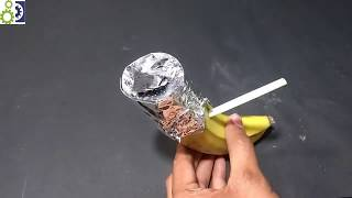 How to make Banana Hookah  PART 2