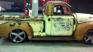 1950 Chevy 3100, Bagged,Rat Rod, Bad Ass Part 1
