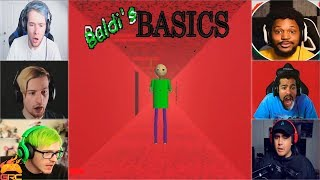 Gamers Reactions to the END (NOT) | Baldi's Basics