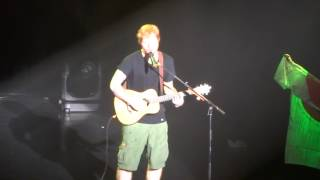 getlinkyoutube.com-Ed Sheeran Sing Live in Tokyo @Studio coast 8.8.2014