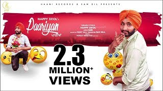Paariyan (Full Song) ● Original ● Happy Deol ● Official Audio ● NEW PUNJABI SONG ● HAAਣੀ Records width=