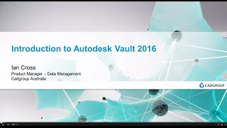 getlinkyoutube.com-Introduction to the Autodesk Vault 2016