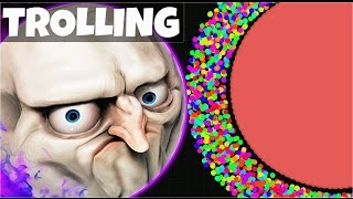 getlinkyoutube.com-AGARIO Funny Moments | Trolling People In Agar.io #6