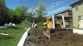 RC Dozer First Dirt Work for the Year