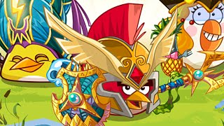 getlinkyoutube.com-Angry Birds Epic - Unlocked Matilda's Elite Cleric World Boss Tinker Titan Completed!