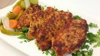 getlinkyoutube.com-دجاج بروستد (بالبقسماط الايطالي) بملعقة زيت