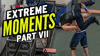WWE 2K16 EXTREME MOMENTS! VII (The Last Bloody Affair!)