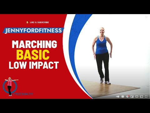Marching - Low Impact Aerobics -JENNY FORD