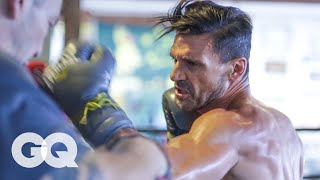 getlinkyoutube.com-How I Got My Body: Kingdom's Frank Grillo Shares Boxing and Workout Tips