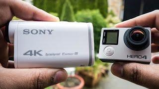 getlinkyoutube.com-Sony FDR-X1000V Vs GoPro Hero 4 Black - 4K Video Comparison