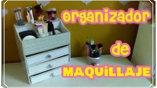 getlinkyoutube.com-ORGANIZADOR DE  MAQUILLAJE