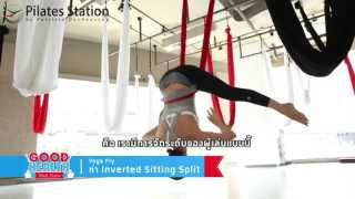 getlinkyoutube.com-Yoga Fly / Body Fly feat. Good Health @ Pilates Station Bangkok