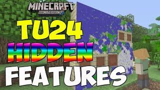 getlinkyoutube.com-Minecraft XBOX - TU24 HIDDEN FEATURES - MEGA MAPS, RAINBOW SHEEP & MORE!