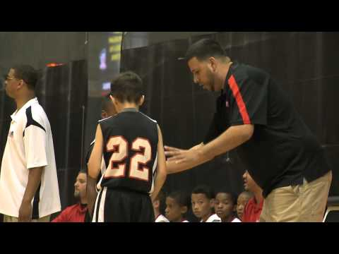 Video of LeBron James Jr. at Disney AAU Championships