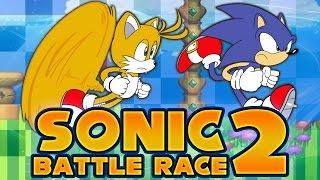 getlinkyoutube.com-Sonic 2: Battle Race - Razor vs. redhotsonic