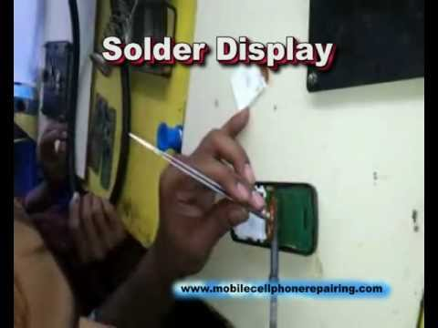 How To Solder / Replace Display / Screen of Mobile Phone | Mobile Phone Repairing