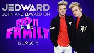 getlinkyoutube.com-Jedward on Keep It In The Family 12.09.2015